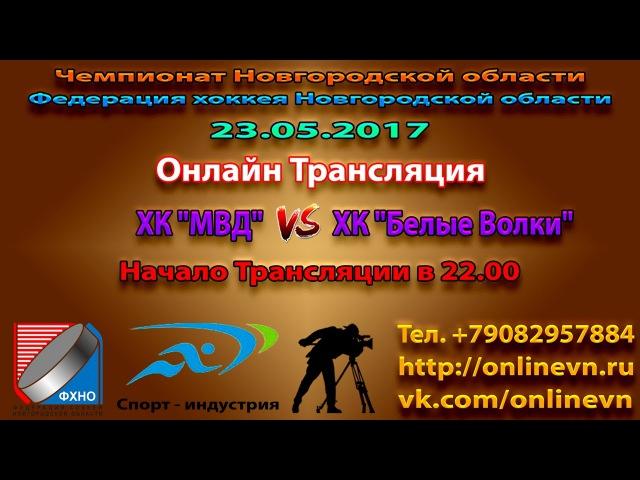 ЧНО - Финальная игра МВД VS БЕЛЫЕ ВОЛКИ - Спорт-индустрия