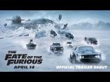 #ILMovieTrailers: Второй трейлер фильма «Форсаж 8» / The Fate of the Furious