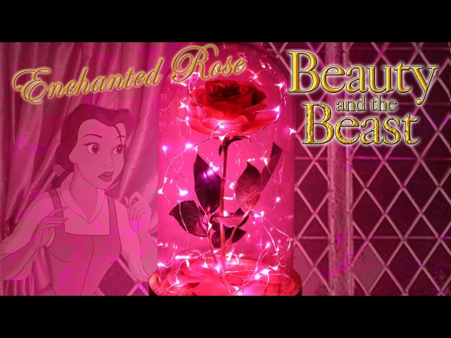 Enchanted Rose Cloche : DIY Movie Prop : Beauty and The Beast