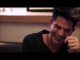 Adam Lambert - CRACK!Video #2 humour