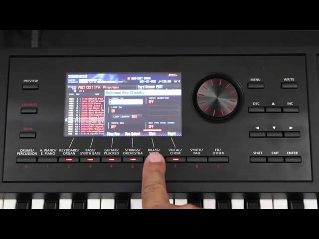 Roland FA 06 08 How to Create a Basic Sequence