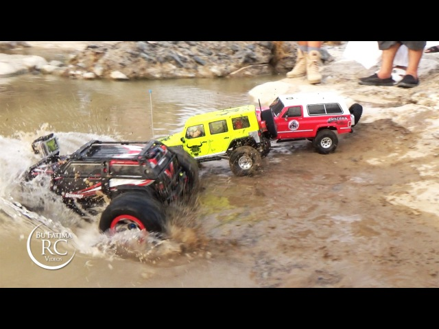 Traxxas Summit, Vaterra Blazer, Axial SCX10 - Mud Challenge