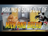 MAKING A SONG OUT OF MILK AND BREAD!! (PRODUCING WITH PANDA EYES #4)