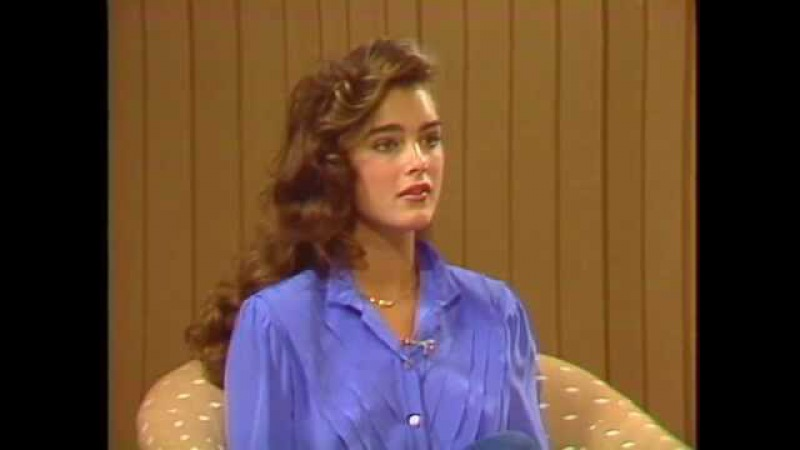 16 year old Brooke Shields interview