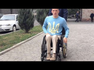 Парень на коляске завоевал золото на Паралимпиаде