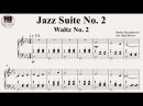 The Second Waltz, Op. 99 (Jazz Suite No. 2), Dmitri Shostakovich (Дми́трий Шостако́вич - вальс 2)