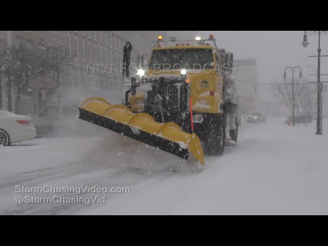 Watertown to Copenhagen, NY intense lake effect snow - 1/5/2017