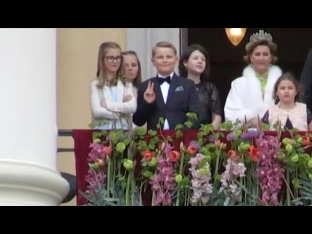 Вести.Ru: Норвежский принц Сверре Магнус вновь стал героем Интернета