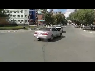Догнал в зад.17.08.2017 Жумабаева - Абая