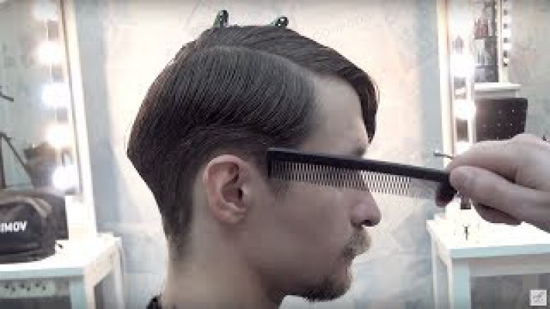 Урок для парикмахеров МУЖСКАЯ СТРИЖКА полная версия мастер класс Артем Любимов Барбершоп обучение смотреть онлайн без регистрации