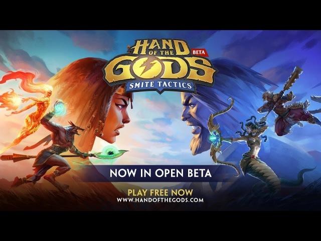 Трейлер ОБТ Hand of the Gods: SMITE Tactics