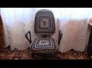 Вязание чехла для компьютерного стула