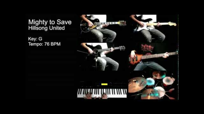 Mighty to Save - Hillsong United [Instrumental]