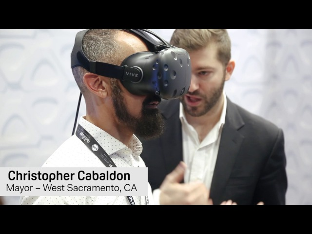 Видео: мэры США о виртуальной реальности для умных городов