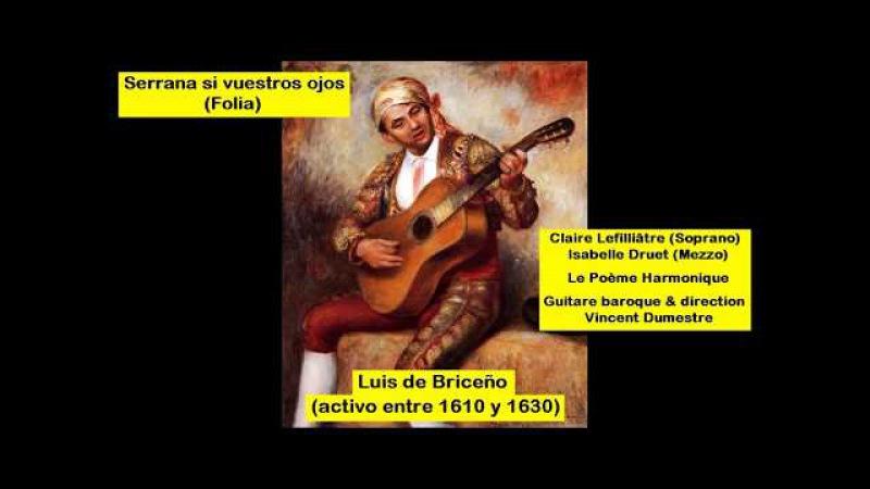 Luis de Briceño (15xx - before 1630) - Folia - Serrana si vuestros ojos
