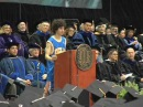 Linkin Park's Brad Delson speaks at UCLA graduation | Part 2