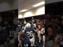 Penn State football players Mannequin Challenge celebrate win over Iowa, video  in locker room