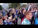Timelapse55 Омск Навальный СКК 17.9.2017 море людей, очереди и автозаки от начала до конца