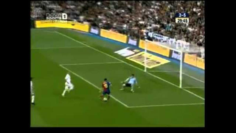 (2009-05-02) [078] La Liga (2008-2009) - Real Madrid 2-6 Barcelona (2-5 Messi)