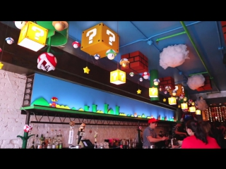 MARIO BAR in DC Cherry Blossom Pub!