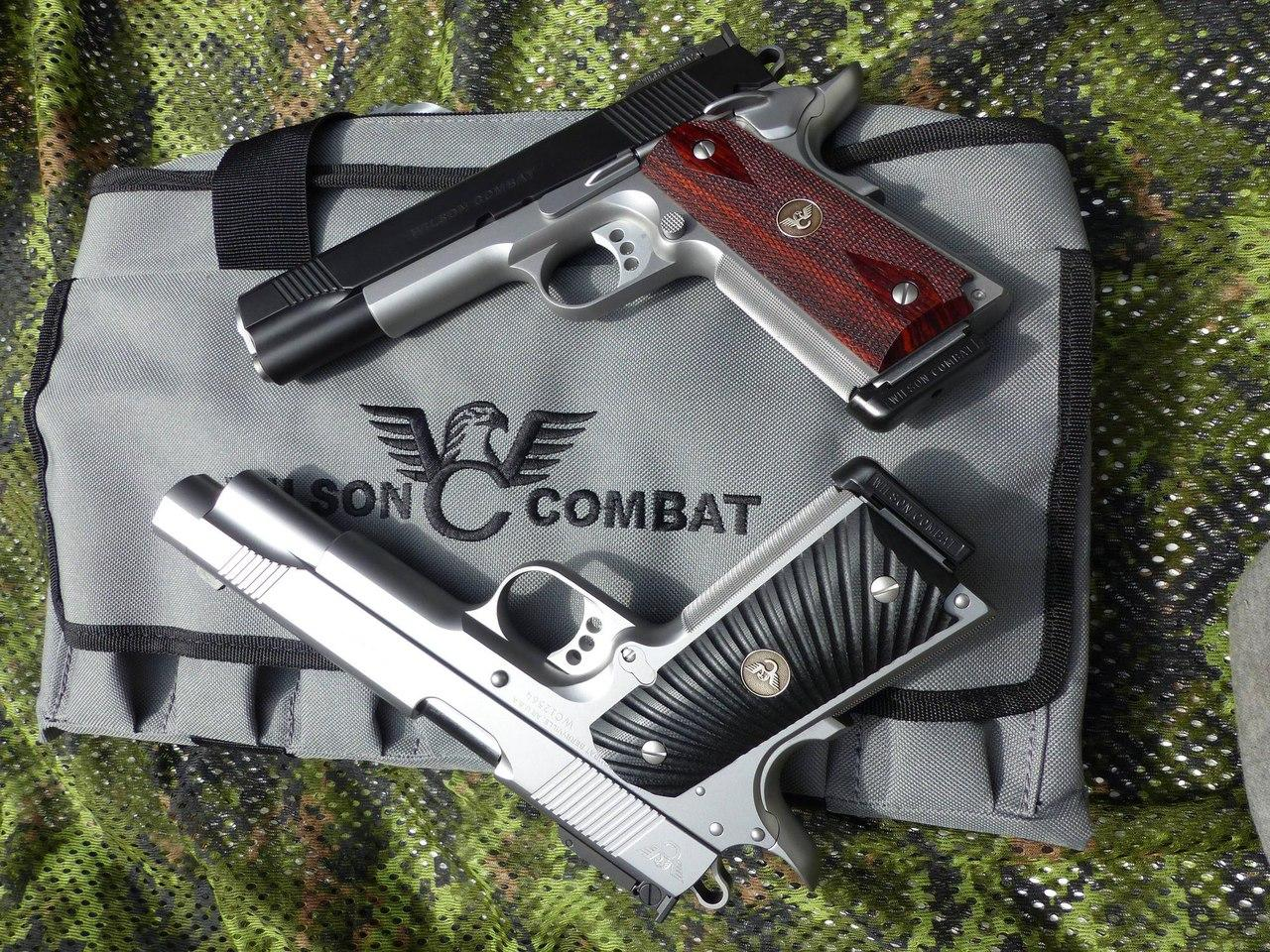 Пара 1911 от Wilson Combat: модель Classic в .45ACP и Hunter в 10mm auto