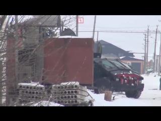 В Дагестане спецназ в ходе проведения контртеррористической операции использовал новейшие бронеавтомобили