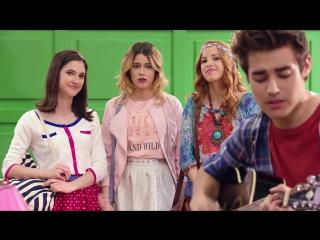 """Violetta׃ Momento Musical׃ León canta """"Voy por ti"""""""