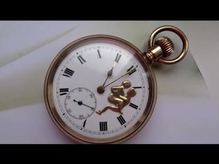 Erotic pocket watch. Sex scene on watches (1)
