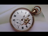 Erotic pocket watch. Sex scene on watches (1)