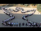 Флешмоб посвящённый Дню Мира 21.09.2017 г.Теплодар