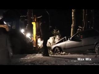 Как не стоит вытаскивать авто (6 sec)
