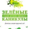 """""""ЗЕЛЕНЫЕ КАНИКУЛЫ"""" Студия детских программ"""