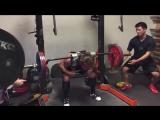 Дэн Грин - наклоны 180 кг на 8