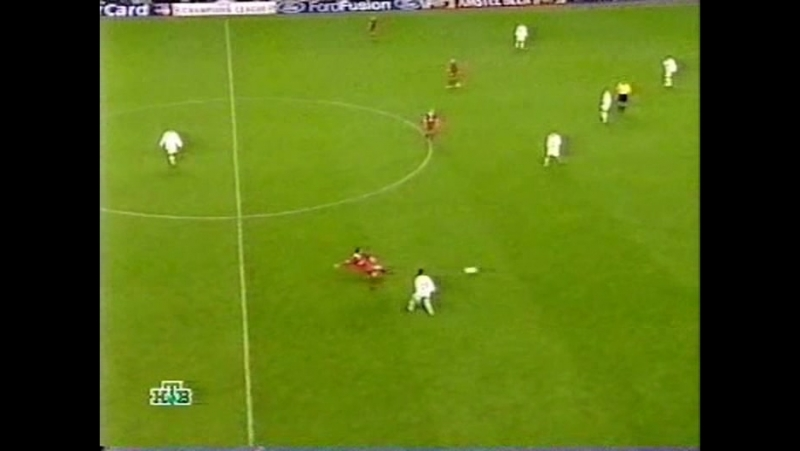 97 CL-2002/2003 Liverpool FC - Spartak Moskva 5:0 (02.10.2002) HL