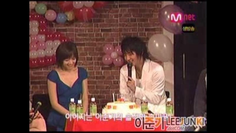 2006.07.14 10ти летие дебюта Kang Sung-yeon/강성 연 (Noksok)[出席姜成妍影迷会]