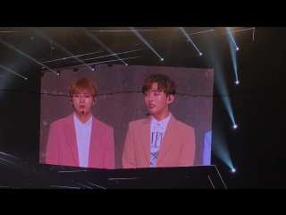170807 Окончание премьерного шоукона Wanna One
