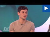 Tom Daley talks love at first sight and proposing in his pants