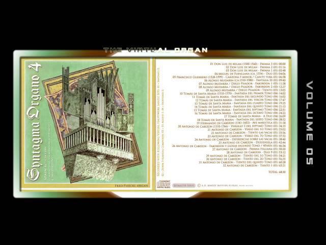 SYNTAGMA ORGANO 04 - Fred G. Pisecki, various organ Sample sets