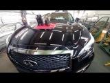 Защита кузова авто INFINITI Q70 керамическим покрытием Aqua protect 9H