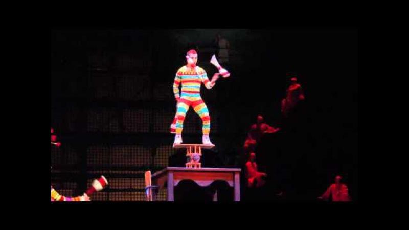 Cirque Du Soleil (La Nouba) Bernard Hazen act 2013-2016
