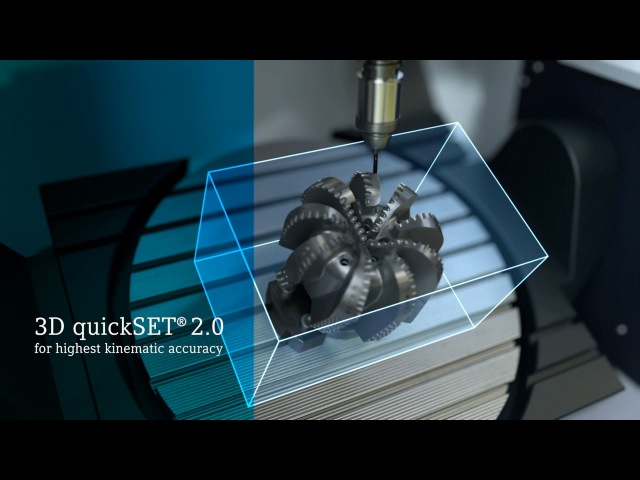3D quickSET for highest kinematic accuracy