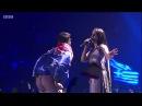 Джамала и мужчина с голым задом на Евровидении 2017