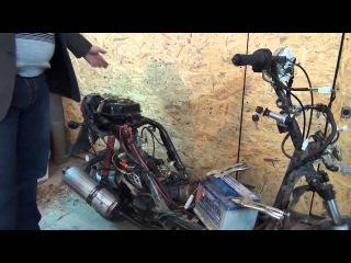 Как открыть багажник(унитаз) скутера honda dio af 35zx без ...