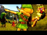 DABBING LINK IS BACK... WITH MAJORA'S MASK, POKEMON BATTLE AND F-ZERO! - OCARINA OF TIME IN UNREAL 4