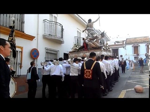 Domingo de Resurreccion 2017, ALHAURIN de la TORRE, las mejores marchas, banda de musica, 16/04