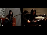Lens Kidman &amp Mayzan play Concerto (Marty Friedman and Jason Becker's Cacophony cover)