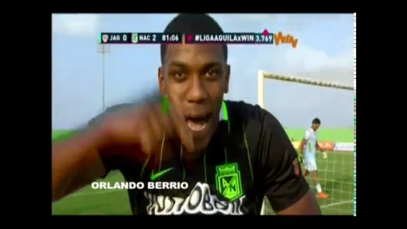 ORLANDO BERRIO VIDEO 2016