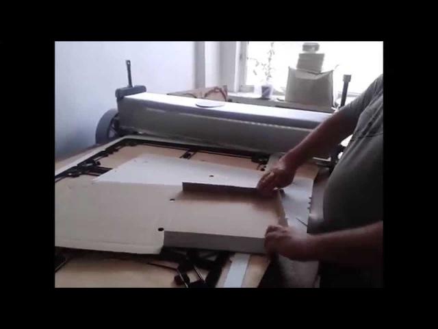 Валковый пресc 1000мм, Roller press , Box for pizza
