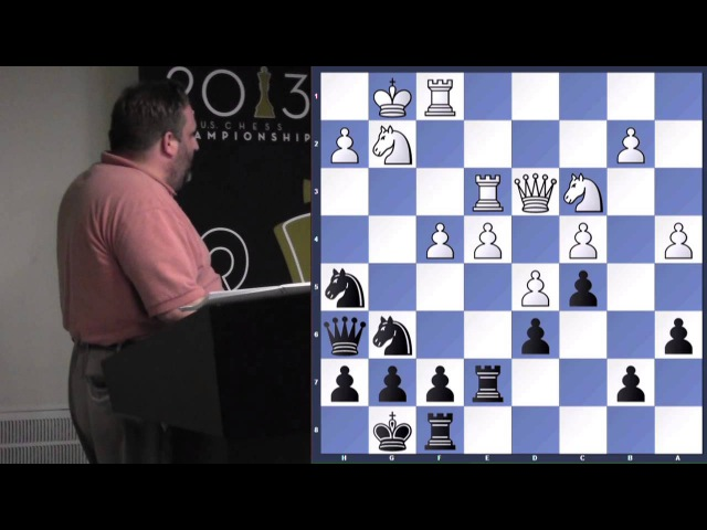 Block Center Positions - GM Ben Finegold - 2013.07.11