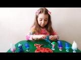 Тролли СВИТ БОКС Открываем игрушки СюрпризыТроллей | Trolls SWEET BOX Toys
